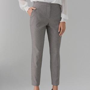 Brązowe spodnie Mohito z bawełny