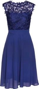 Granatowa sukienka bonprix bpc selection premium