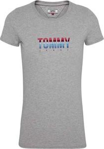T-shirt Tommy Jeans z krótkim rękawem w młodzieżowym stylu