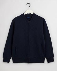 Granatowa kurtka Gant w stylu casual krótka