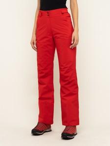 Czerwone spodnie sportowe Eider