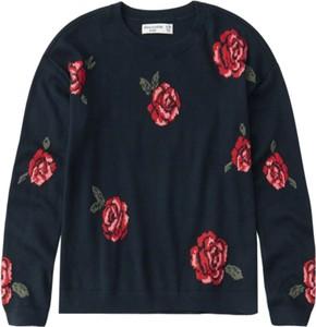 Czarny sweter Abercrombie & Fitch z bawełny