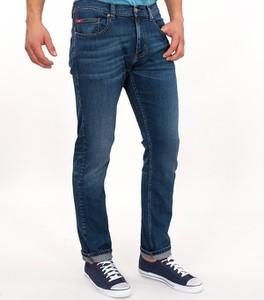 Niebieskie jeansy Lee Cooper w stylu casual z bawełny