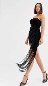Czarna sukienka Asos bez rękawów