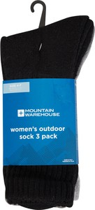 Czarne skarpetki Mountain Warehouse