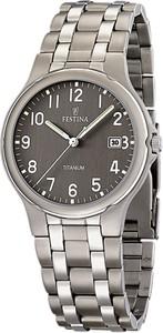 Festina Zegarek dla Mężczyzn, Titanium, Stainless Steel, 2017