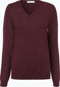 Fioletowy sweter Vila w stylu casual z dzianiny