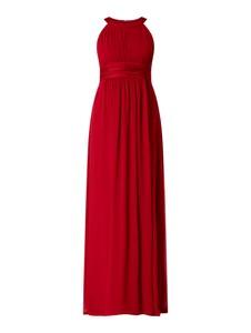 Czerwona sukienka Jake*s Cocktail bez rękawów z szyfonu maxi