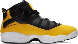 Buty sportowe Jordan w sportowym stylu ze skóry