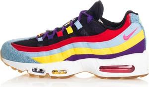 Buty sportowe Nike sznurowane air max 95 ze skóry