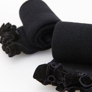 Czarne skarpetki Reserved dla dziewczynek