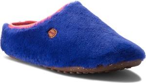 Niebieskie kapcie Camper z płaską podeszwą