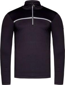 Czarna bluza Toni Sailer z tkaniny