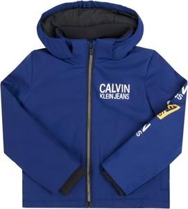 Kurtka dziecięca Calvin Klein z jeansu