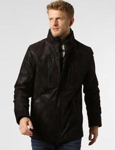 Czarna kurtka Dnr w stylu casual