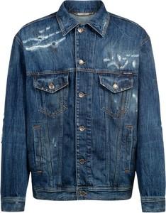 Niebieska kurtka Dolce & Gabbana krótka
