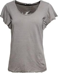 Bluzka Desigual z krótkim rękawem z bawełny w stylu casual