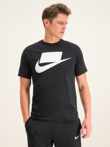 Czarny t-shirt Nike z krótkim rękawem