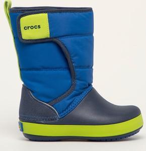 Buty dziecięce zimowe Crocs na rzepy dla chłopców