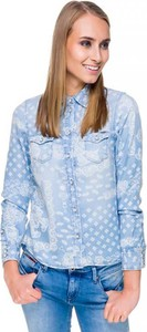 Niebieska koszula Pepe Jeans z jeansu