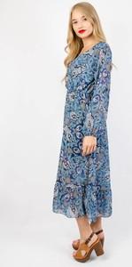 Sukienka Olika z długim rękawem midi