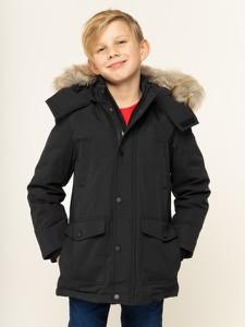 Czarna kurtka dziecięca Tommy Hilfiger