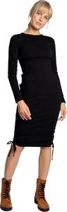 Sukienka Lalupa w stylu casual z długim rękawem