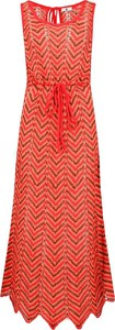 Sukienka Twinset midi w stylu casual z okrągłym dekoltem