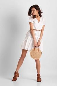 Sukienka Ivon mini z bawełny w stylu boho