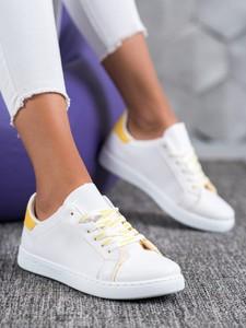 Buty sportowe Czasnabuty sznurowane z płaską podeszwą
