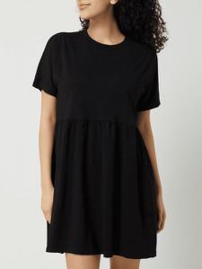 Czarna sukienka Noisy May w stylu casual z bawełny mini