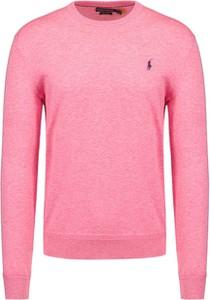 Różowa koszulka polo POLO RALPH LAUREN