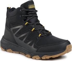 Czarne buty dziecięce zimowe Sprandi Earth Gear