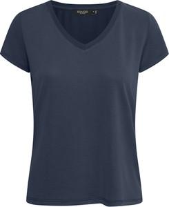 Niebieski t-shirt Soaked in Luxury