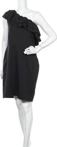Czarna sukienka Victorio & Lucchino mini z okrągłym dekoltem bez rękawów