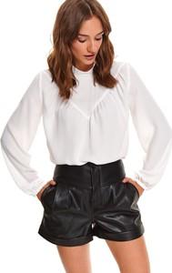 Bluzka Top Secret z długim rękawem z dekoltem w kształcie litery v