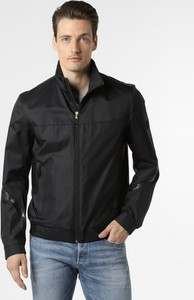 Czarna kurtka Hugo Boss w stylu casual krótka