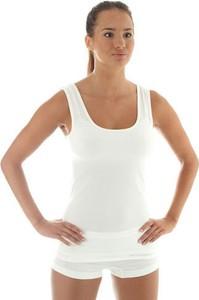 Termoaktywna koszulka damska bez rękawów Brubeck Comfort Wool TA10170