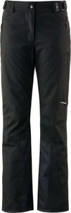 Czarne spodnie sportowe CMP