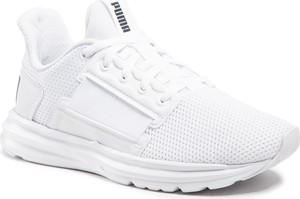 Buty sportowe Puma w sportowym stylu ze skóry ekologicznej z płaską podeszwą