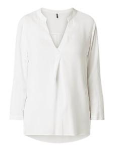 Bluzka Only z długim rękawem z dekoltem w kształcie litery v