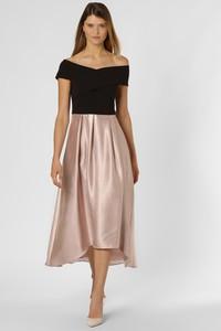 Sukienka Apriori rozkloszowana z krótkim rękawem