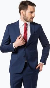 2fe161d492acf Hugo Boss • HUGO - Męskie spodnie od garnituru modułowego – Simmons182,  niebieski. Marynarka Hugo