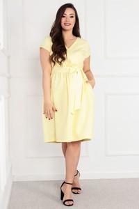 Sukienka KARKO midi z bawełny