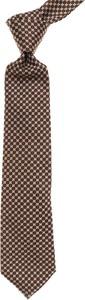 Brązowy krawat Liverano & Liverano