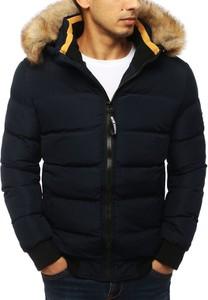 Czarna kurtka Dstreet w młodzieżowym stylu