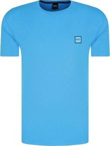 Niebieski t-shirt BOSS Casual