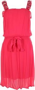 Czerwona sukienka Gaudi mini