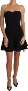 Czarna sukienka Dolce & Gabbana bez rękawów mini