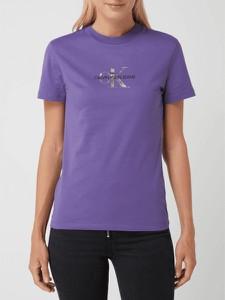 Fioletowa bluzka Calvin Klein